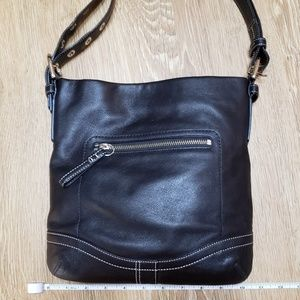COACH smooth Leather Shoulder/Crossbody